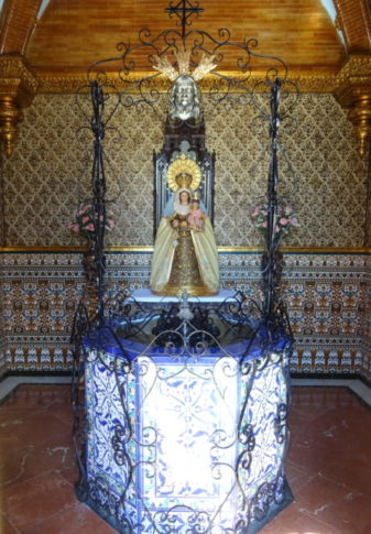 Imagen de Nuestra Madre del Palmar Coronada