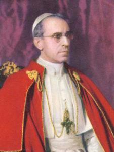 """<a href=""""https://www.eglisepalmarienne.org/recent-popes-francais/#papapioxii/"""" title=""""Pape Saint Pie XII, le Grand"""">Pape Saint Pie XII, le Grand <i>Pastor Angélicus</i><br><br>En Savoir Plus"""