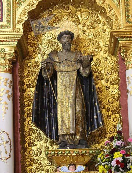 """<a href=""""santo-domingo-de-guzman/"""" title=""""São Domingo de Gusmão"""">São Domingo de Gusmão<br><br>Ver mais</a>"""