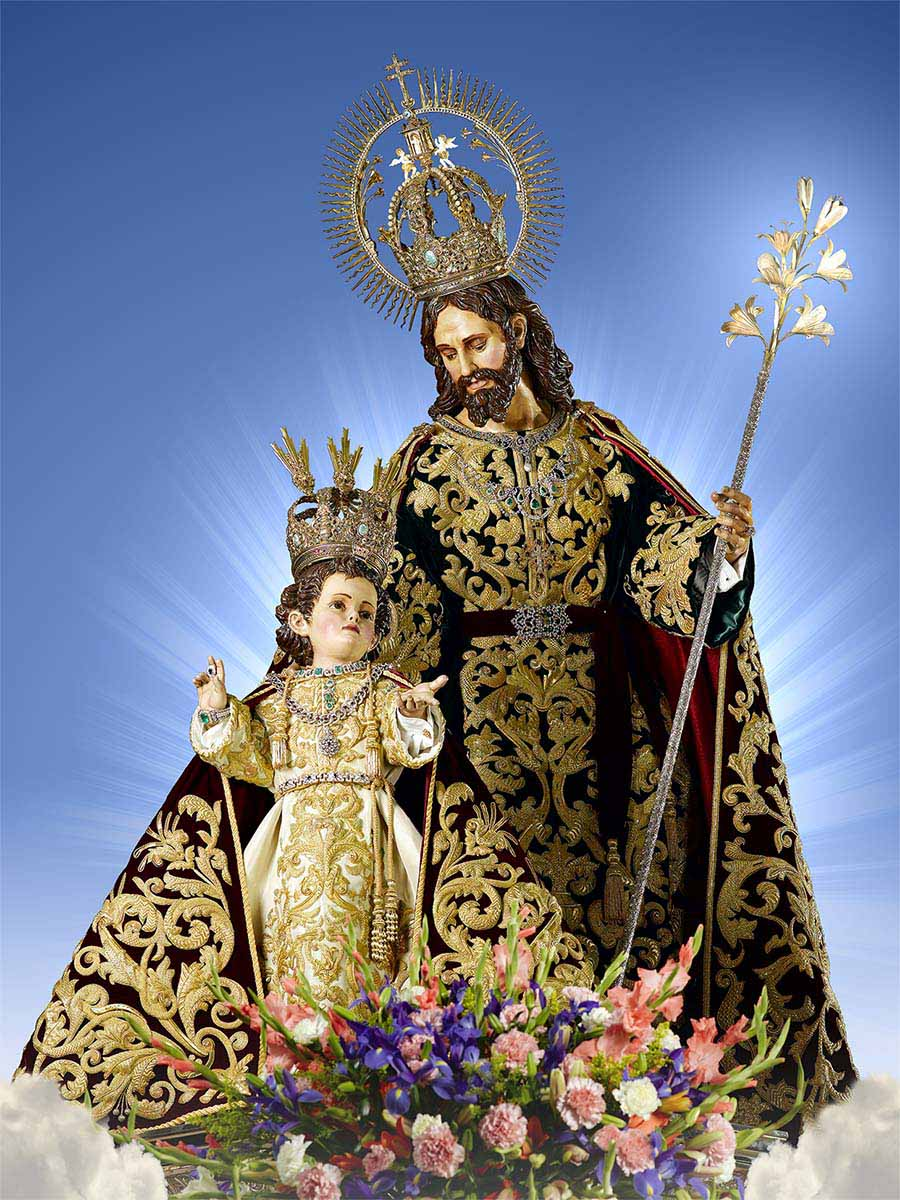 """<a href=""""https://www.palmarianchurch.org/crowned-saint-joseph-of-palmar/"""" title=""""Most Holy Crowned Joseph of the Palmar"""">Most Holy Crowned Joseph of Palmar<br><br>See more</a>"""