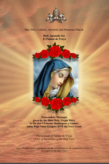 """<a href=""""https://www.palmarianchurch.org/wp-content/uploads/2018/11/Messages-of-the-Most-Holy-Virgin-Mary.pdf"""" title=""""Messages on the Most Holy Virgin Mary"""">Messages on the Most Holy Virgin Mary  <br> <br> See more"""
