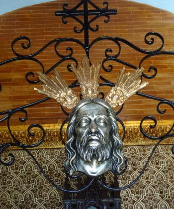 Das Heiligen Antlitz in der Kapelle