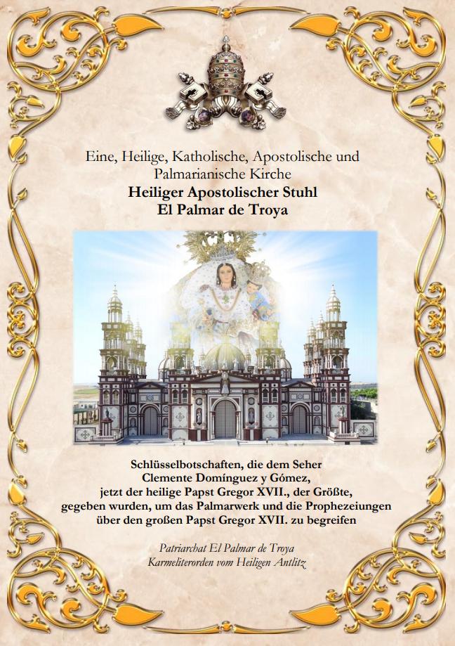 """<a href=""""https://www.palmarianischekirche.org/wp-content/uploads/2018/11/Mensajes-Claves.pdf"""" title=""""Schlüsselbotschaften """">Schlüsselbotschaften  <br><br> Mehr"""
