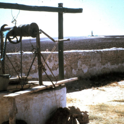 The Holy Well from the early days