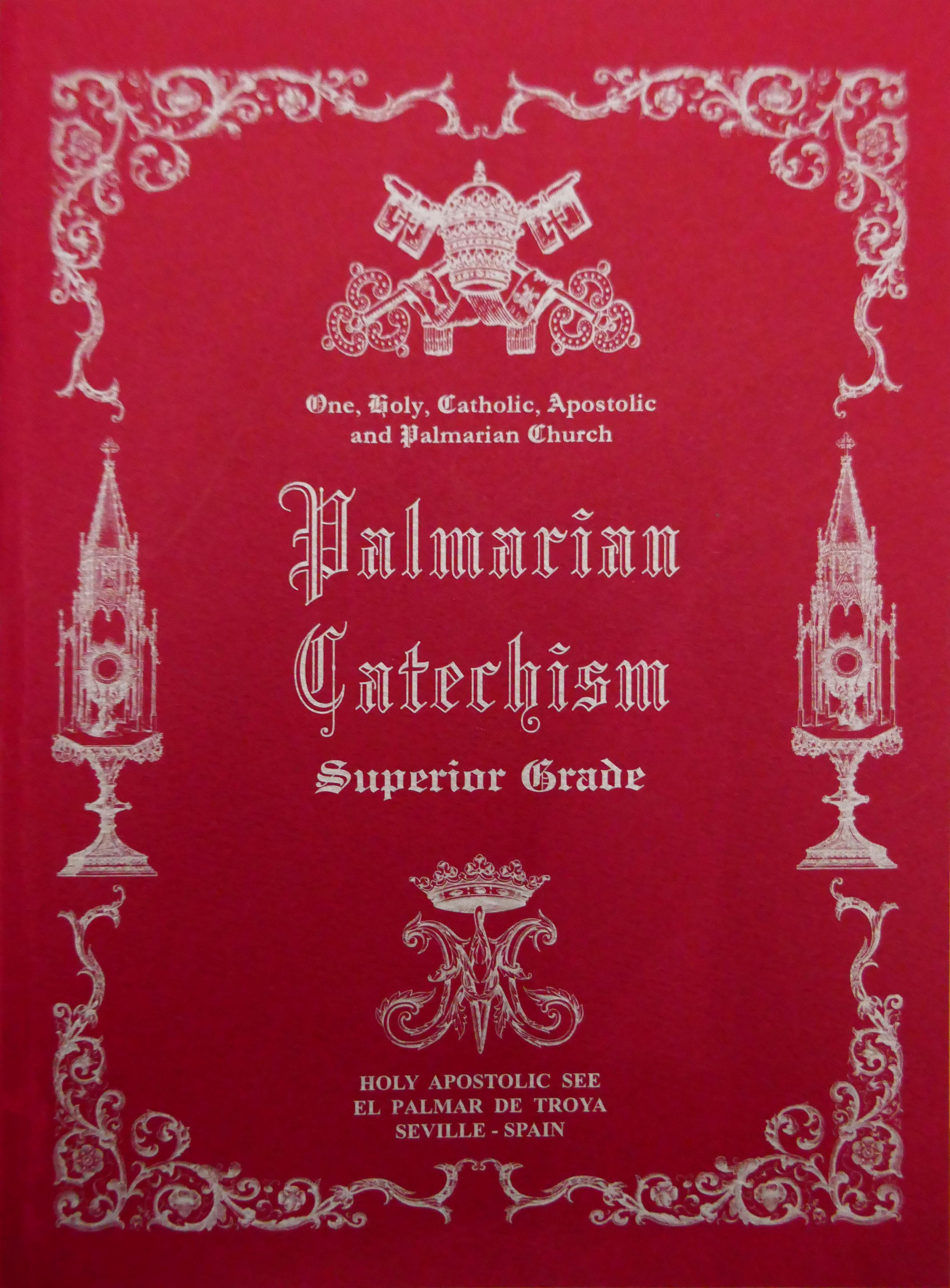 """<a href=""""https://www.palmarianchurch.org/wp-content/uploads/2019/03/Extracts-from-the-Palmarian-Catechism.pdf"""" title=""""Extracts from the Palmarian Catechism"""">Extracts from the Palmarian Catechism  <br> <br>Vedeți mai departe</a>"""
