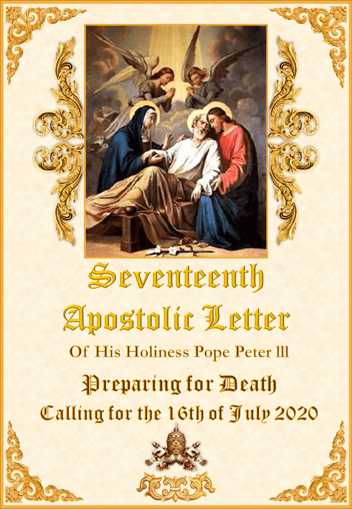 Seventeenth Apostolic  <br>Letter of His Holiness<br> Pope Peter III  <br><br> Read More