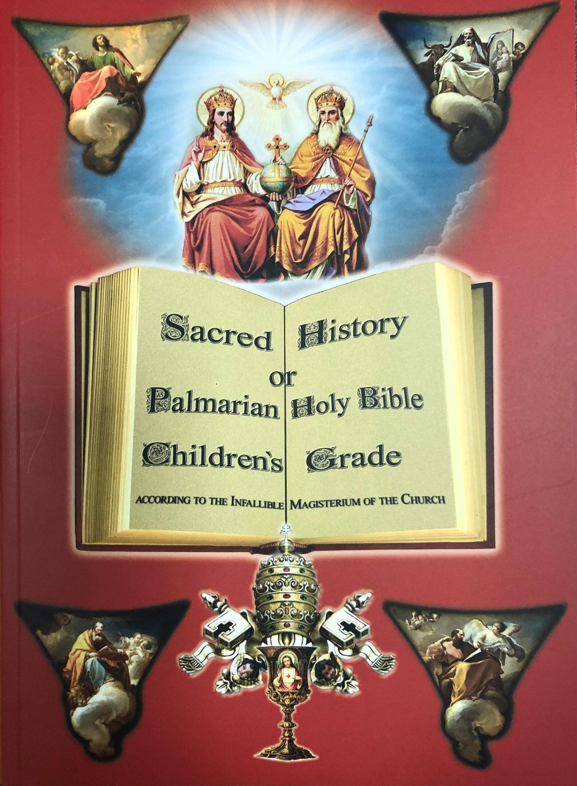Święta Historia lub Palmariańskie Pismo Święte dla dzieci <br><br>Zobacz więcej</a>