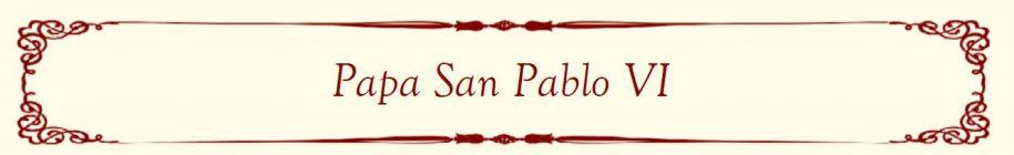 Pope Paul VI Banner (Filipino)