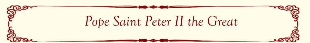 Popoe Saint Peter II