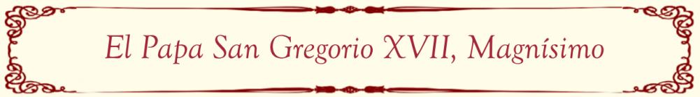 San Gregorio XVII